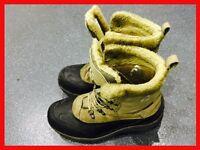 KARRIMOR Mens Walking Hiking Mountain Fell Boots Waterproof Size 9 / 43 Beige / Black RRP £59.95