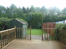 **NEW** Unfurnished 1 Bedroom Lower Cottage with Garden - Allands Avenue - Inchinnan
