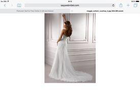 Brand New Maggie Sottero - Courtney Wedding Dress Size 12