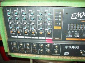 yamaha powered mixer 200 watts emx 620 SOLD WAITING ON PAYMENT ,