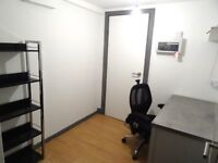 Private self contained office/ desk space art studio with gallery