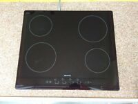 SMEG Ceramic Hob (SE2640TD2) used for one week in new flat before pre-ordered Induction Hob arrived.