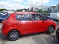 Skoda FABIA 1.6 S TDI CR 90,5 dr hatchback,FSH,1 previous owner,£20 tax, 6 months AA gold warranty