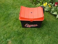 Efgeeco fishing tackle Junior seat box.