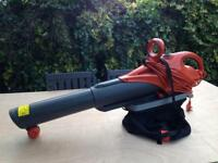 Flymo Leaf Blower/Vacuum with Bag Used