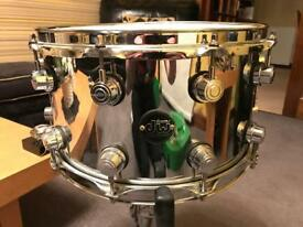 DW Performance steel snare drum 14x8