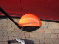 Bio-Cell adjustable driver with head cover and key left handed