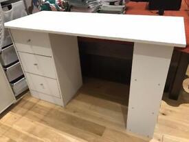 ARGOS MALIBU DESK AND IKEA SWIVEL CHAIR - LOW PRICE!