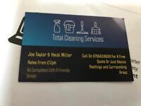 Total Cleaning Services From £12ph