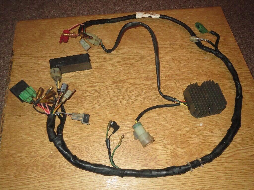 Honda Trx 300 Big Red Wiring Harness Cdi Box Regulator Full Electric Kit