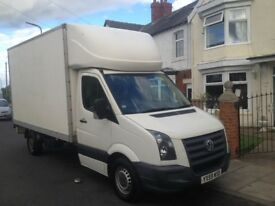 Volkswagen CRAFTER luton 2.5tdi 6 speed