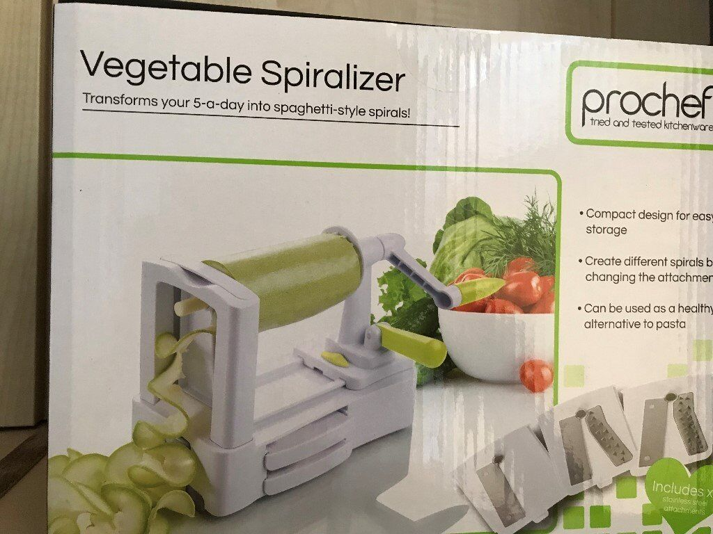 Transforms Your Five A Day Prochef Vegetable Spiralizer