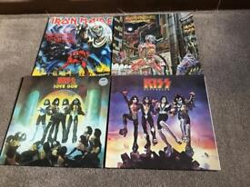 Whitesnake. Iron maiden .kiss. The black crowns van Haley. Jimmy page .Record