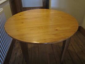 Pine kitchen/dining table. Free for collection