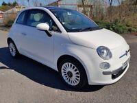 2013 (63) Fiat 500 Lounge 1.2 (start/stop)