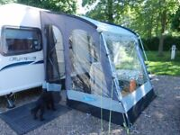 Kampa Rally 200 Caravan Awning with Groundsheet