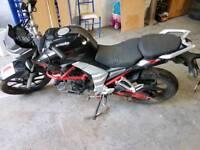 Lexmoto venom 125cc 2017 3k miles