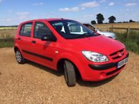 CHEAP IMMACULATE SMALL ENGINE HYUNDAI GETZ MOT APRIL 2018 MANUAL PETROL 1 OWNER 2008 7 SERVICES