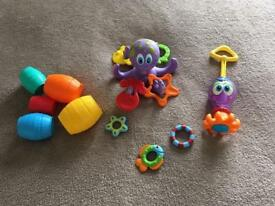 Bath toy bundle