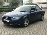 Audi A4 2.0 TDI S line Special Edition Saloon 4dr Diesel Manual Quattro NEW TIMING BELT &WATER PUMP