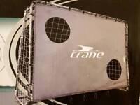 Crane Football Goal With Target Net