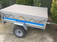 Larger Erde 150 trailer with cover