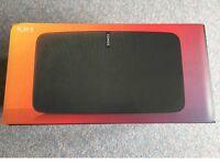 Sonos PLAY:5 Smart Speaker, 2nd Gen, Black (Brand New & Sealed)