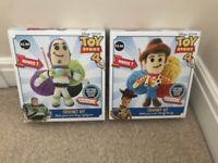 2x brand new Toy Story crochet kits