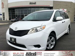 2012 Toyota Sienna V6 CE 7-Pass FWD ZK3DCT AA