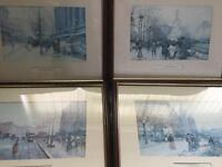 Collection of prints paintings Daniel sherrin and Eugene E-Laloue