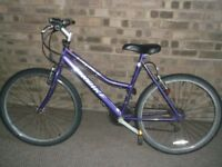 ladies Probike Caprice all works, light and fast,