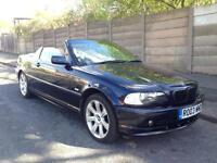 2003 BMW E46 318CI CONVERTIBLE AUTOMATIC, MAY SWAP/PX