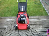 Sovereign Petrol Push Lawnmower