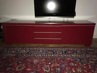 TV and wall unit. Can deliver locally (see text).