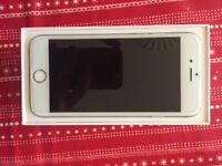 iPhone 6 16GB in silver. Unlocked. Comes boxed with charger and SIM pin. 12 month screen warranty.