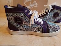 Men's Christian Louboutin Louis Veau Velours LTD EDITION Shoes sneakers Size 46 UK11 BRAND NEW BOXED