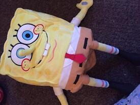 Joke telling spongebob