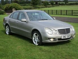 2007 ( FACELIFT MODEL ) MERCEDES E 280 CDI V6 AUTOMATIC ## FULL REAL BLACK LEATHER UPHOLSTERY ###