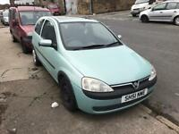 VAUXHALL CORSA C 1.0 PETROL MANUAL 2 DOOR 7 MONTH MOT