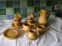BACCHUS KILNCRAFT COFFEE SET