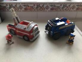 Paw Patrol Toys - Immaculate Condition