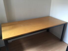 Large solid wood table (90s)