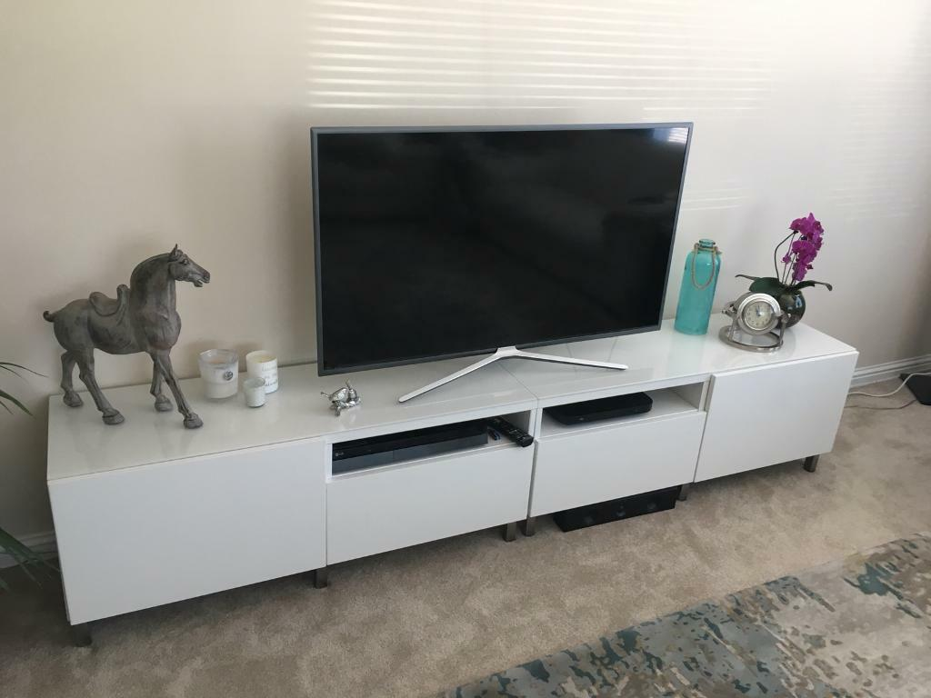 ikea besta tv unit great deal in milltimber aberdeen. Black Bedroom Furniture Sets. Home Design Ideas