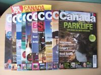 Lot of 10 Issues of Canada Magazine travel, holidays, emigrating