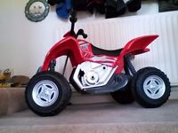Geoby Quad Bike suit 3/4 year old Great present Like new