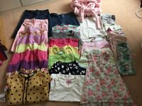 Bundle of girls clothes aged 7/8 Inc joules/next