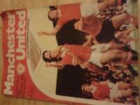 man united 1978 progamme