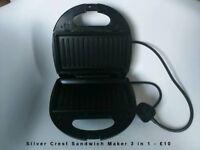 Silver Crest Sandwich Maker 3 in 1