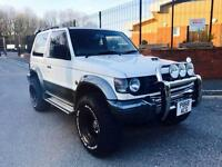 MITSUBISHI PAJERO 2.8 TD DIESEL AUTOMATIC 4X4 FULLY LOADED RUST FREE IMMACULATE CONDITION RARE !!