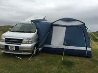 Nissan elgrand 4 berth camper van with pop top